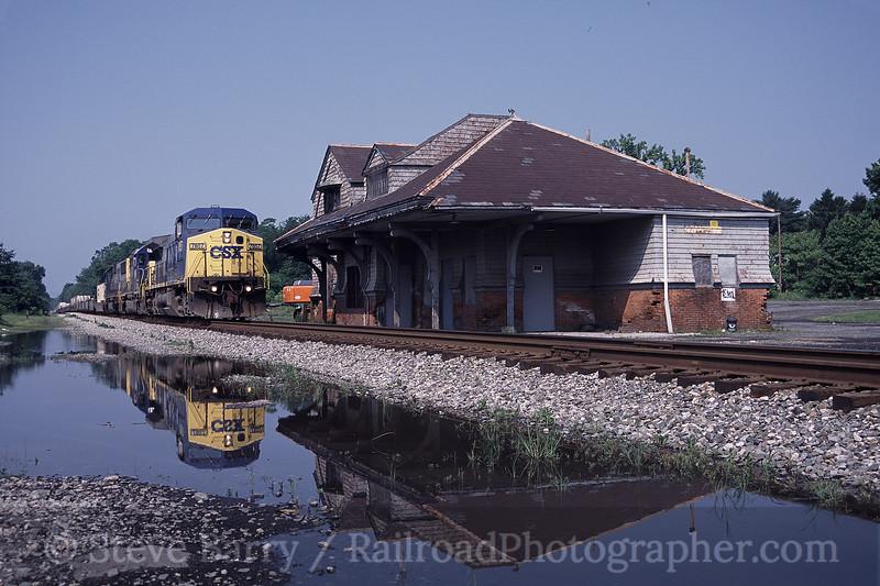 Photo 0196<br /> CSX Transportation; Aberdeen, Maryland<br /> July 4, 2003