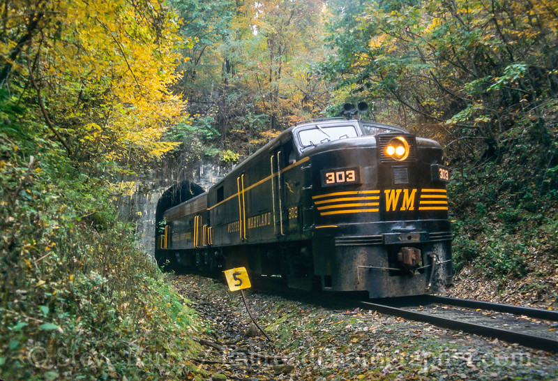 West Virginia Central; Canfield WV; 10/2003