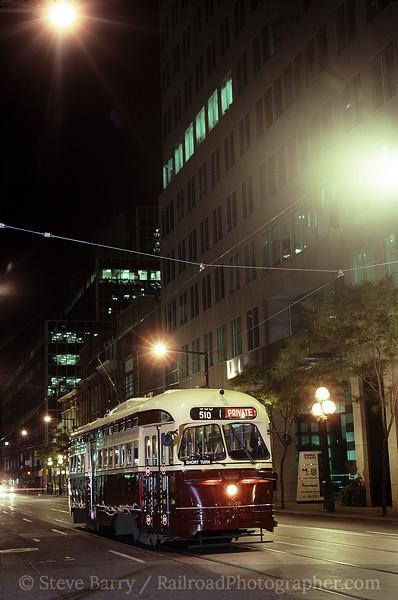 Photo 0518<br /> Toronto Transit Commission; Bay Street, Toronto Ontario<br /> September 2003