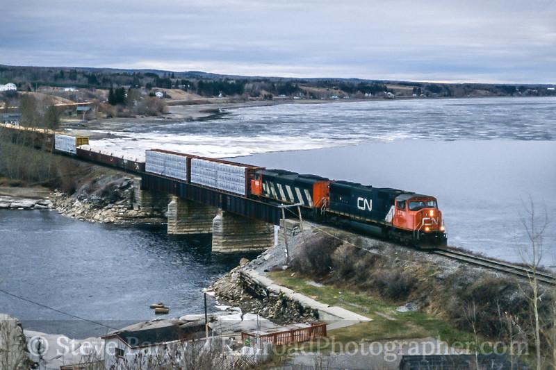 Canadian National; Val-Jalbert QC; 5/2003