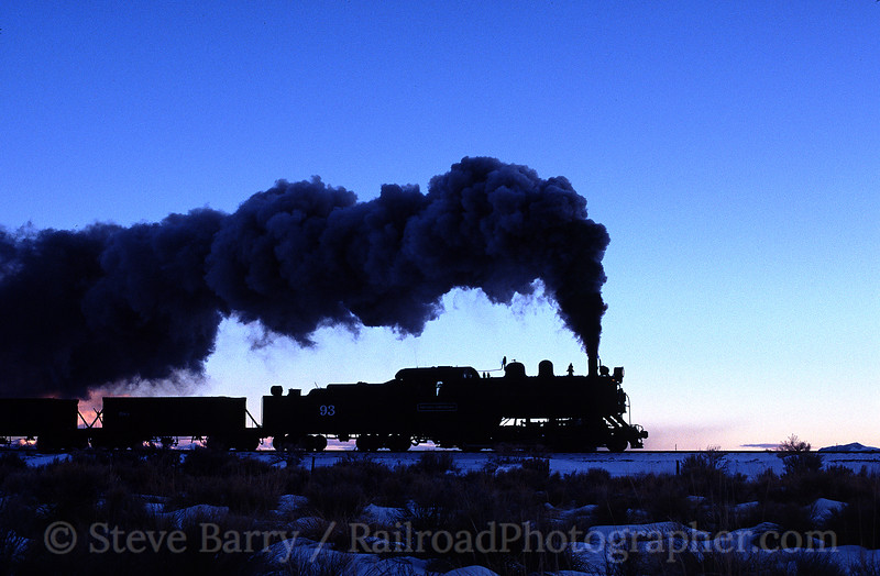 Photo 0390<br /> Nevada Northern<br /> Ely, Nevada<br /> February 2004