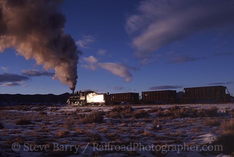 Photo 0386<br /> Nevada Northern; Ely, Nevada<br /> February 2004