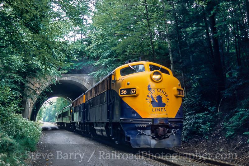 Rail Tours; Nesquehoning PA; 9/2004