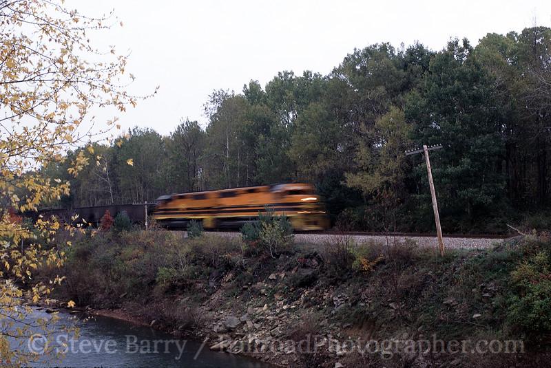Photo 0088<br /> Buffalo & Pittsburgh; Punxsutawney, Pennsylvania<br /> October 2004