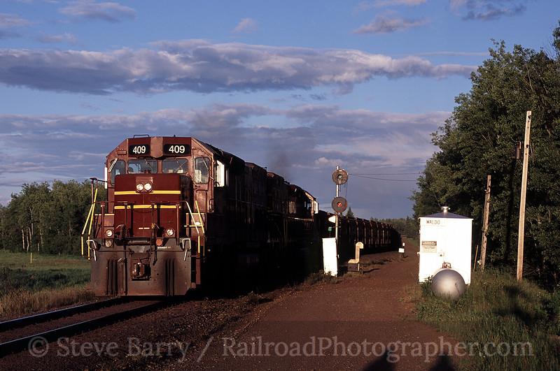 Photo 0855<br /> Duluth, Missabe & Iron Range; Waldo, Minnesota<br /> July 2004