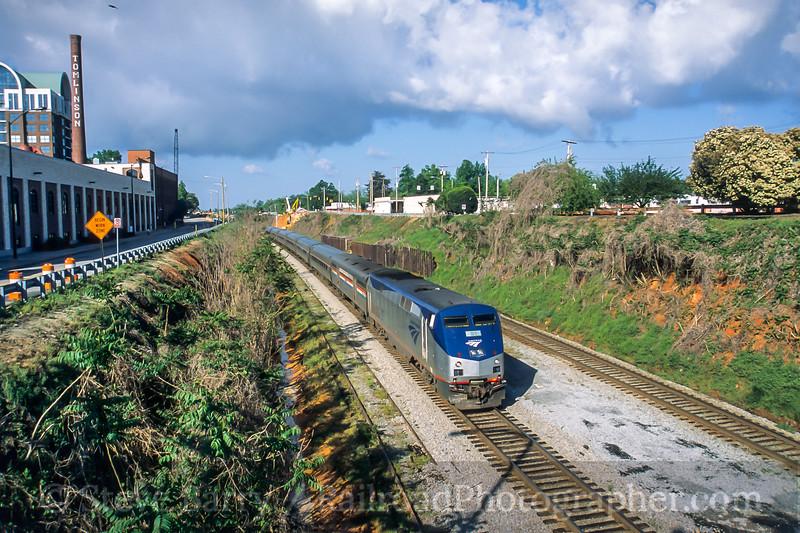 Amtrak; High Point NC; 4/2005