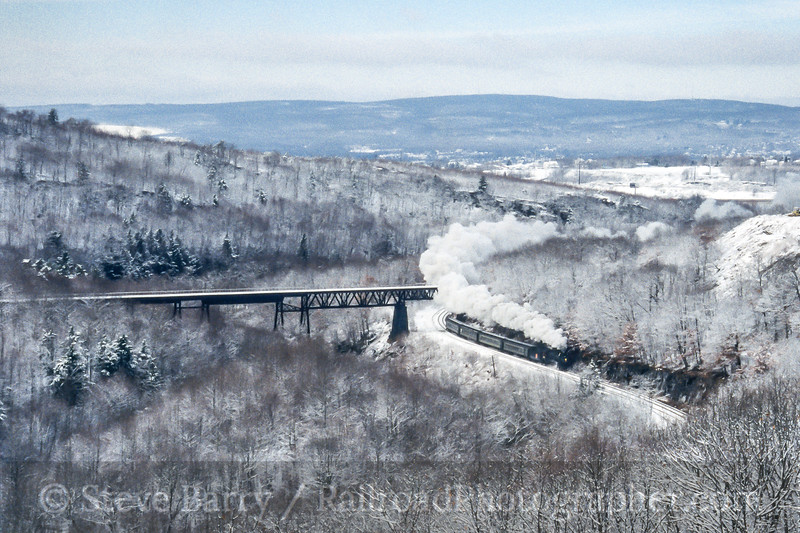 Photo 4466<br /> Steamtown National Historic Site<br /> Dunmore, Pennsylvania<br /> January 2005