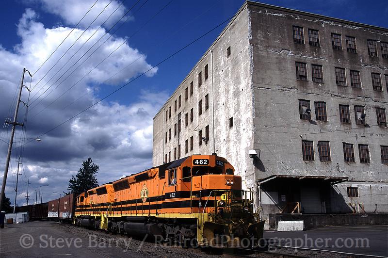Photo 0877<br /> Portland & Western; Salem, Oregon<br /> July 2005