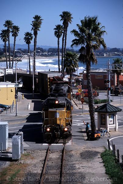 Photo 0551<br /> Union Pacific; Santa Cruz, California<br /> March 14, 2005