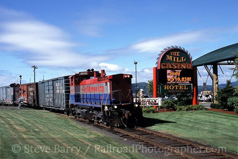 Photo 0844<br /> Central Oregon & Pacific; Coos Bay, Oregon<br /> July 2005