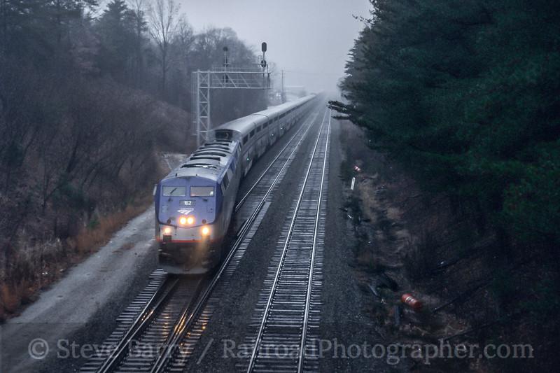 Amtrak; Lorton VA; 12/2005