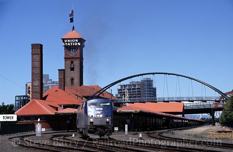 Photo 0839<br /> Amtrak; Portland, Oregon<br /> July 2005