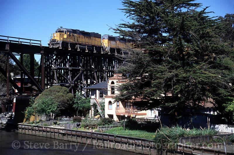 Photo 0529<br /> Union Pacific; Capitola, California<br /> March 14, 2005