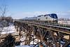 Amtrak; Jordan ON; 1/2005