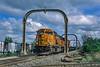 BNSF (on CN); Penford Junction MI; 5/2005