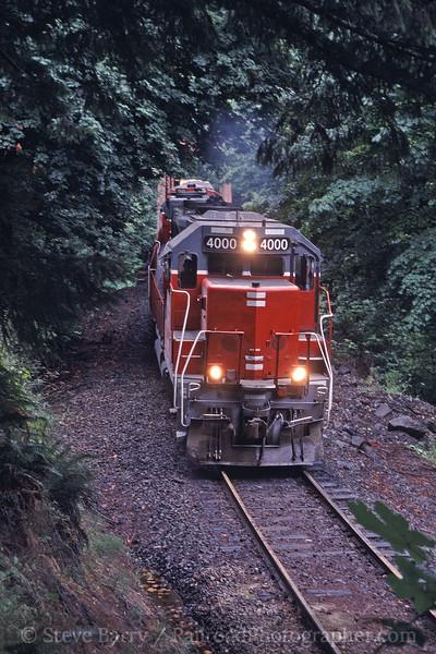 Photo 0845<br /> Central Oregon & Pacific; Nekoma, Oregon<br /> July 2005