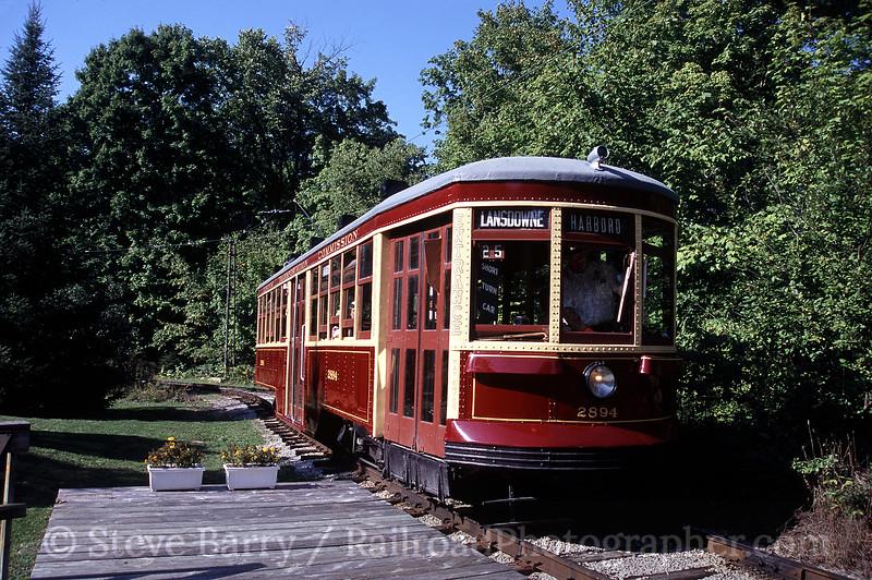 Photo 0858<br /> Halton County Radial Railway; Milton, Ontario<br /> September 11, 2005