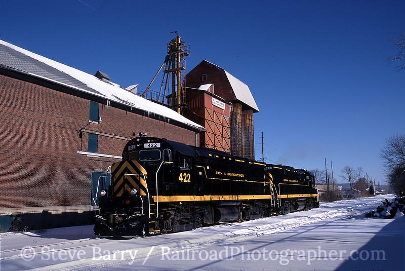 Photo 0053<br /> BH Rail (Bath & Hammondsport); Bath, New York<br /> January 28, 2005