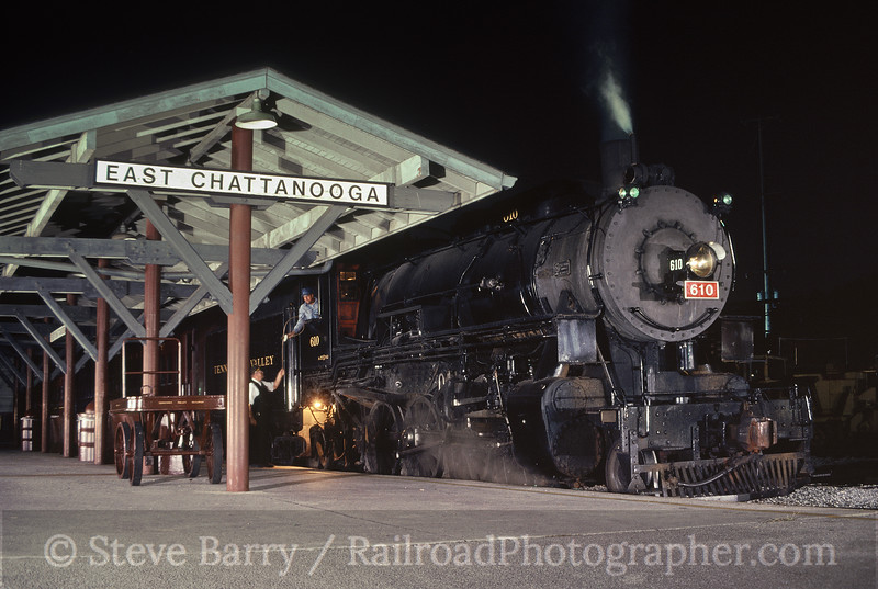 Photo 0073<br /> Tennessee Valley Railroad Museum; East Chattanooga, Tennessee<br /> October 2005