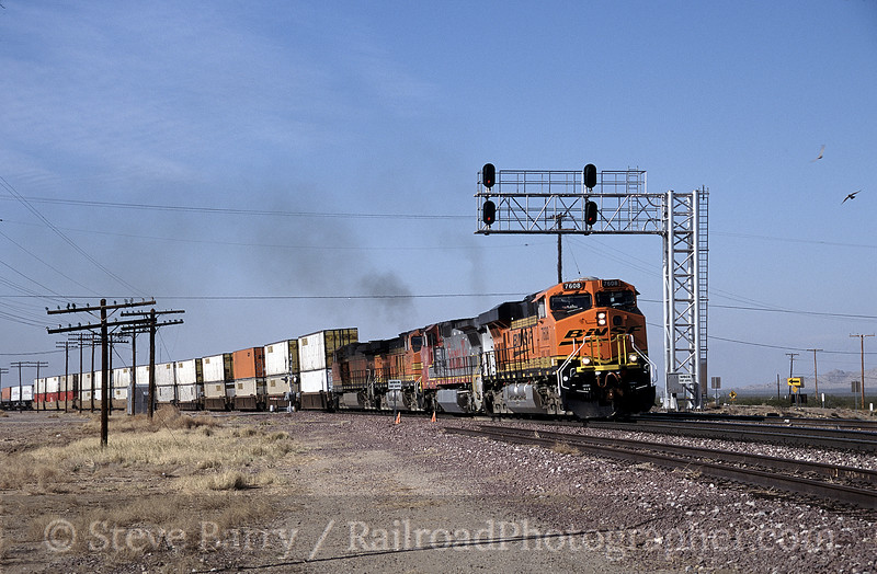 Photo 0075<br /> BNSF Railway; Goffs, California<br /> February 14, 2006