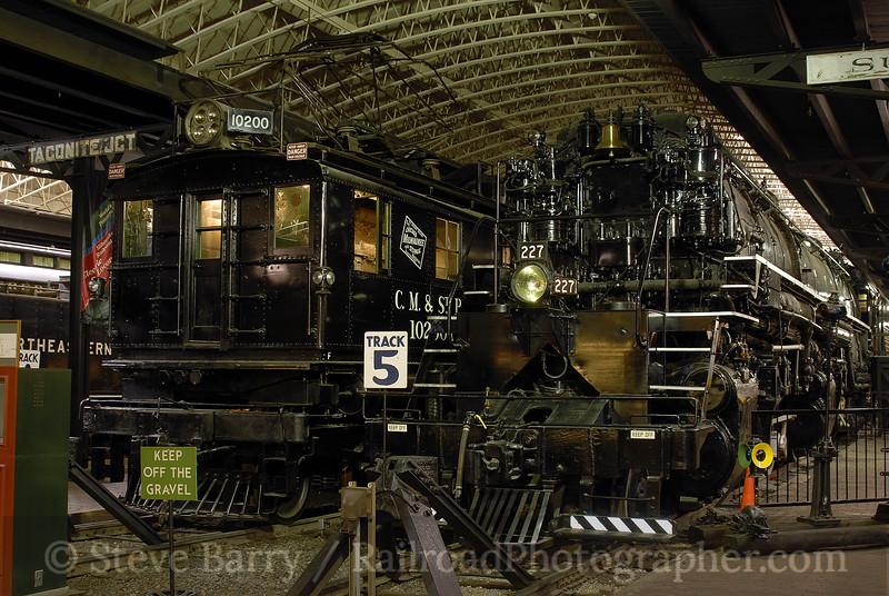 Photo 0781<br /> Lake Superior Railroad Museum<br /> Duluth, Minnesota<br /> September 10, 2006