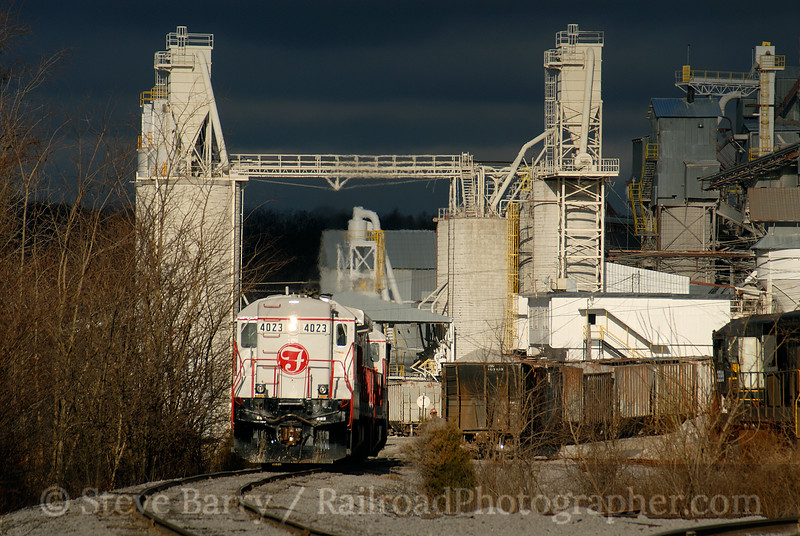 Photo 0856<br /> Franklin Industrial Minerals; Crab Orchard, Tennessee<br /> December 1, 2006