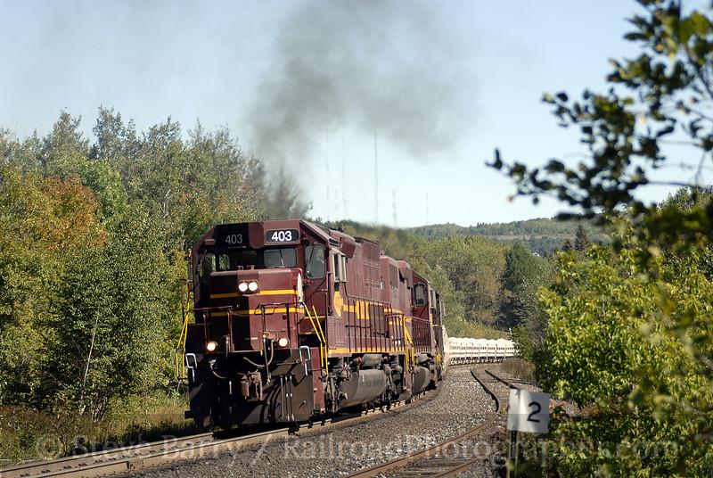 Photo 0755<br /> Canadian National (Duluth, Missabe & Iron Range); West Duluth, Minnesota<br /> September 10, 2006