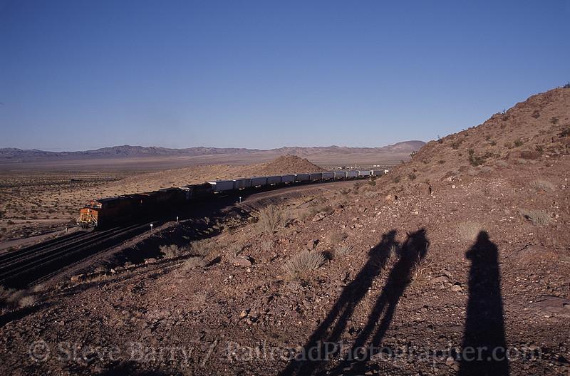 Photo 0080<br /> BNSF Railway; Ludlow, California<br /> March 13, 2006