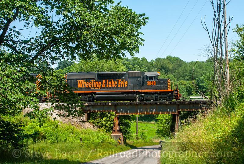 Wheeling & Lake Erie; Jewett OH; 7/17/06