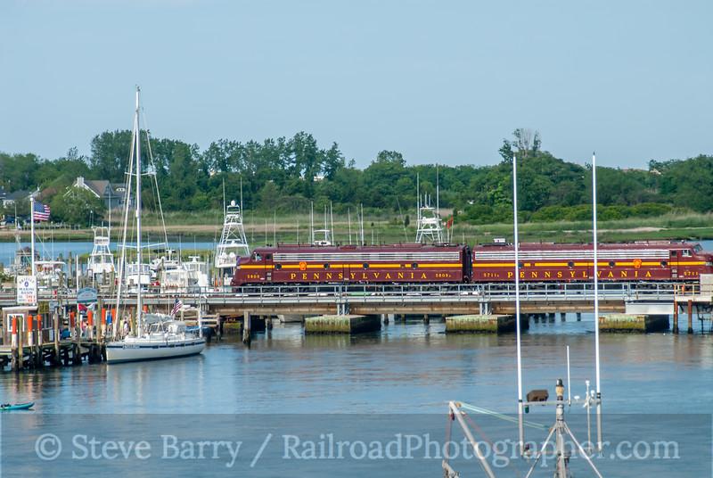 Pennsylvania Railroad 5809; Brielle NJ; 6/15/06