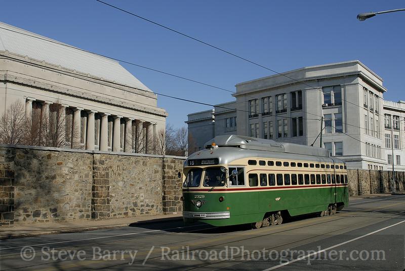 Photo 0231<br /> Southeastern Pennsylvania Transportation Authority; Girard College, Philadelphia, Pennsylvania<br /> February 3, 2007