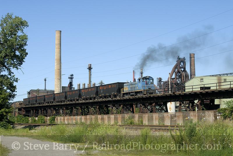 Photo 0977<br /> Wheeling-Pittsburgh Steel; Mingo Junction, Ohio<br /> August 13, 2007