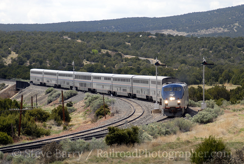 Photo 0905<br /> Amtrak; Chappelle, New Mexico<br /> May 16, 2007