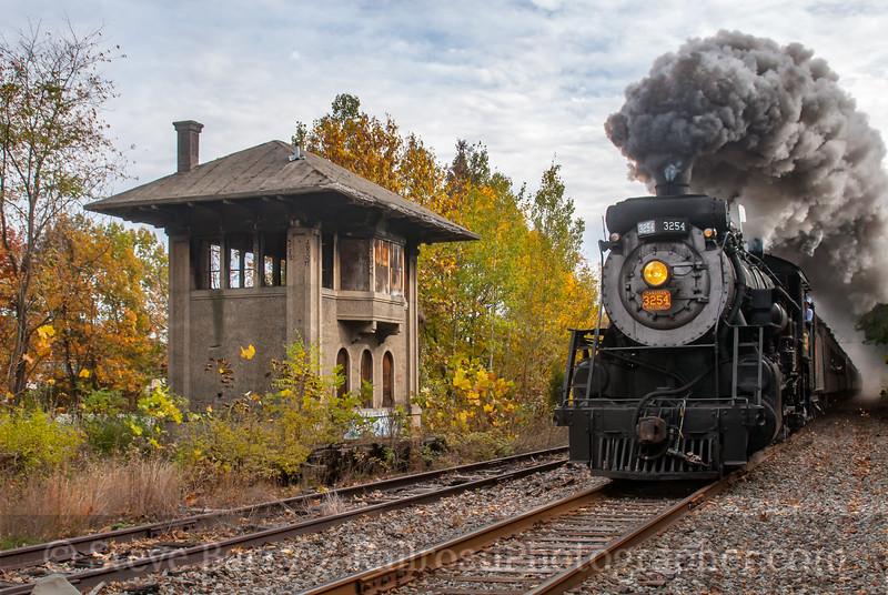 Steamtown; East Stroudsburg PA; 11/3/07