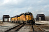 Photo 0601<br /> Union Pacific (on Indiana Harbor Belt); Blue Island, Illinois<br /> March 26, 2007