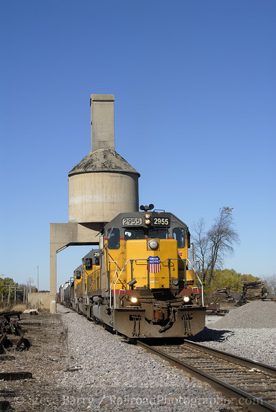 Photo 1023<br /> Union Pacific; Clyman Junction, Wisconsin<br /> October 23, 2007