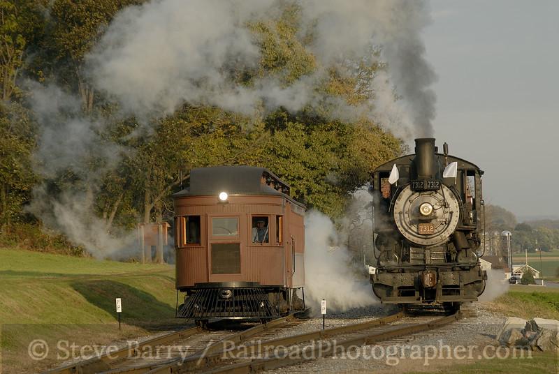 Photo 1032<br /> Strasburg Rail Road;  Paradise, Pennsylvania<br /> November 5, 2007