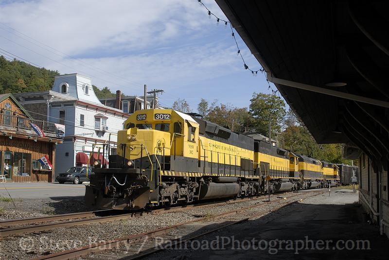 Photo 1012<br /> New York, Susquehanna & Western; Callicoon, New York<br /> September 30, 2007