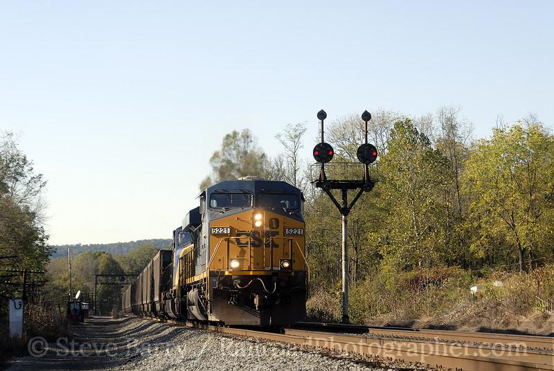 Photo 1015<br /> CSX Transportation; Orleans Road, West Virginia<br /> October 13, 2007