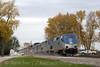 Photo 1031<br /> Amtrak; Richwood, Wisconsin<br /> October 22, 2007