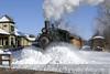 Photo 1103<br /> Huckleberry Railroad; Crossroads Village, Flint, Michigan<br /> February 15, 2008