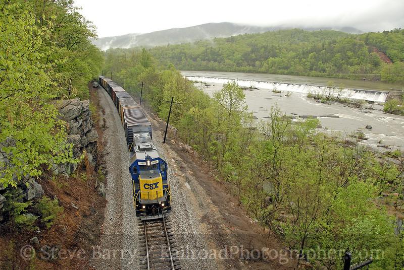Photo 1140<br /> CSX Transportation; Snowden, Virginia<br /> April 28, 2008