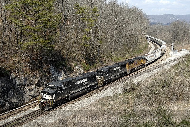 Photo 1129<br /> Norfolk Southern; Harriman, Tennessee<br /> March 16, 2008