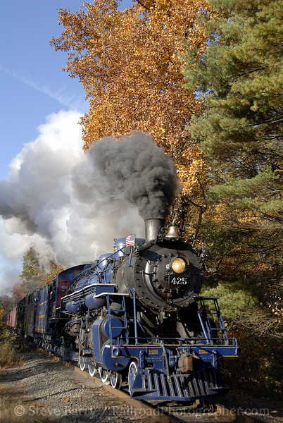 Photo 1257<br /> Reading, Blue Mountain & Northern; Drehersville, Pennsylvania<br /> October 18, 2008