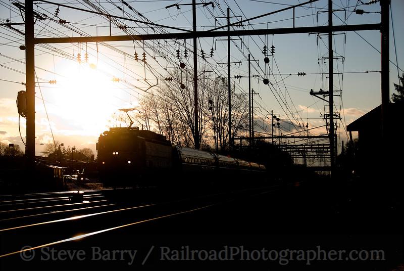 Photo 1359<br /> Amtrak; Parkesburg, Pennsylvania<br /> November 22, 2008