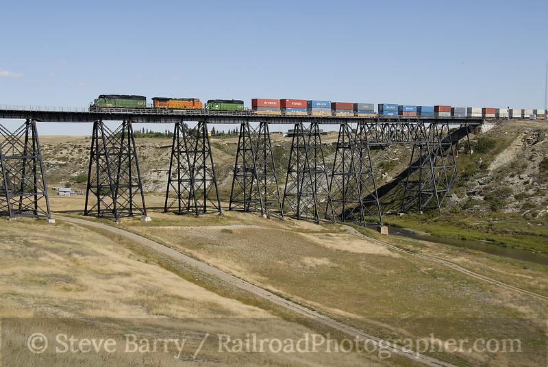 Photo 1345<br /> BNSF Railway; Cut Bank, Montana<br /> September 9, 2008