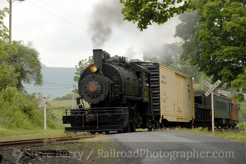 Photo 1233<br /> Wanamaker, Kempton & Southern; Wanamaker, Pennsylvania<br /> May 31, 2008
