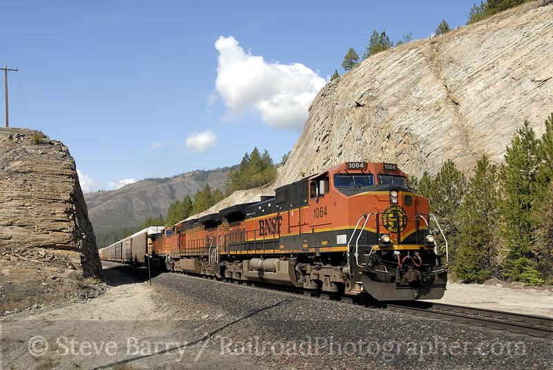 Photo 1333<br /> BNSF Railway; Tamarack, Montana<br /> September 6, 2008