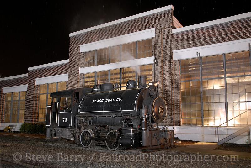 North Carolina Transportation Museum; Spencer NC; 4/26/08