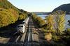 Photo 1291<br /> Metro North Railroad; Breakneck Ridge, Cold Spring, New York<br /> October 11, 2008
